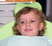 Child Visiting Whittier Square Dentistry